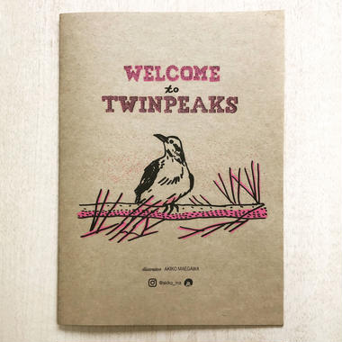 WELCOME to TWINPEAKS(ドローイング集)