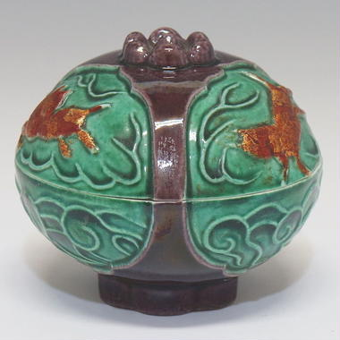 交趾柘榴香合(永樂妙全)/ 1762