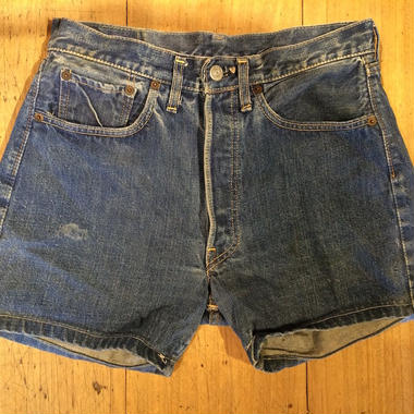 1960's LEVI'S 501 s-type cut off shorts