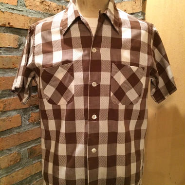 SOLD 1950's Jayson open collar shirt