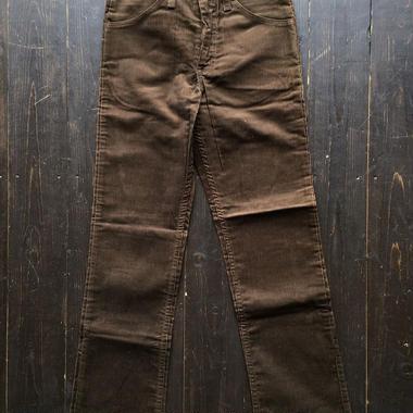 Dead Stock 1970's Levi's 519 cords pants