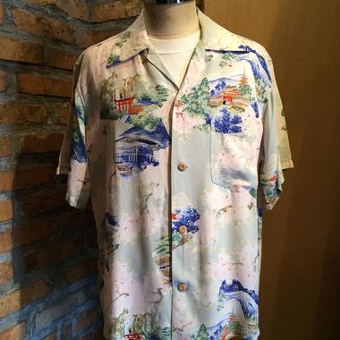 1950's All over pattern Hawaiian shirt