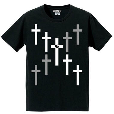 宙也 55 T-Shirt Designed by zoestyles (Black)