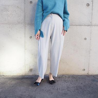 tuck pants L.GRAY