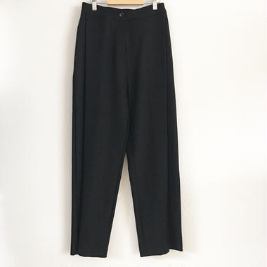 tuck pants BLACK