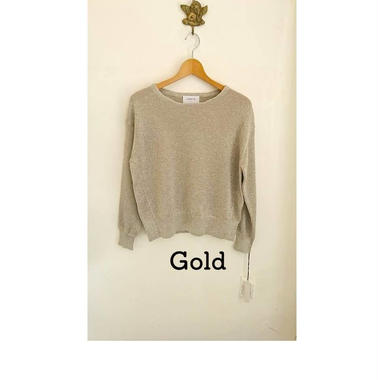 Gold & Silver Knit
