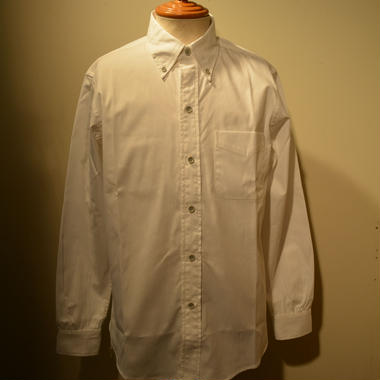 boncoura 2019ss コードレーンBDシャツ(WHITE)