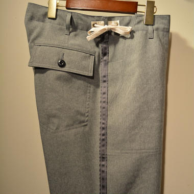 kenneth field ceremony trouser (Wide) -小松精練-