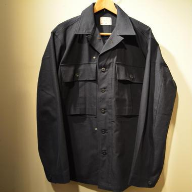 "boncoura 7th anniversary ""B-43jacket"" indigo HBT"