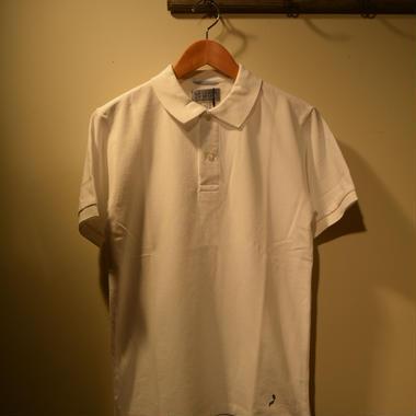 "kenneth field ポロシャツ ""Côte d'Azur""ホワイト"