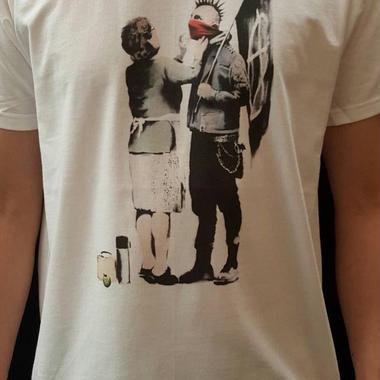 BANKSY バンクシー Tシャツ