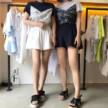 バンダナユニークTシャツ/2colors