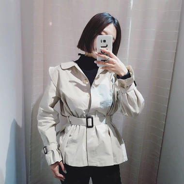 belt short jacket