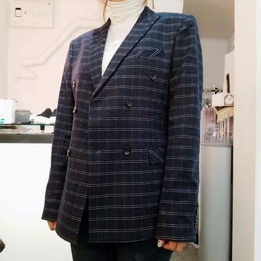 window pane doble jacket