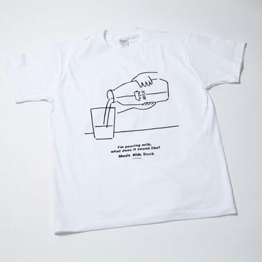 MKBミルク柄Tシャツ(大人用 S/M/L)