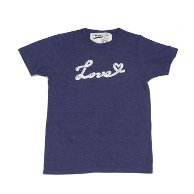 """【ラス1!!】""""love"""" Tシャツ (ホワイト/ネイビー)"""