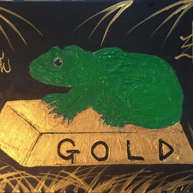金塊買える  金塊カエル 金塊蛙  マッドジョンソン