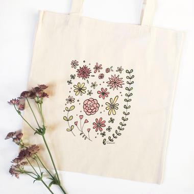"""Tote bag """"Flowers"""""""