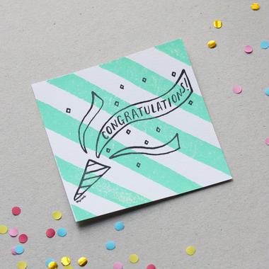 """Postcard """"Congratulations!"""""""