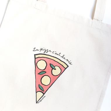 "Tote bag ""Pizza"""