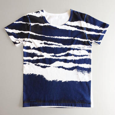 Tシャツ 波しま