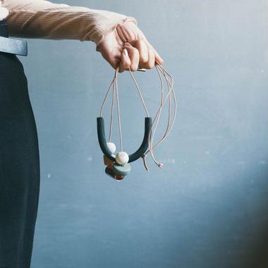 judson necklace - Black