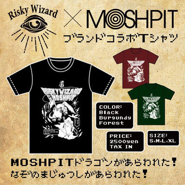MOSHPIT×RISKY コラボ T