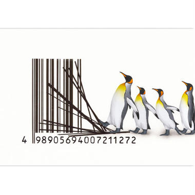 POSTCARD  「バーコード2」