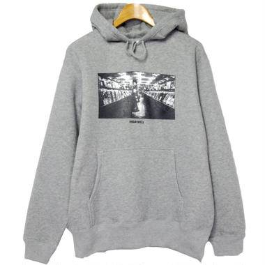 """""""DIG IN THE JUNGLE""""  PULL OVER PARKA [ HEATHER GRAY]"""