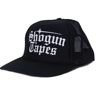 SHOGUN TAPES  MESH CAP [BLACK]