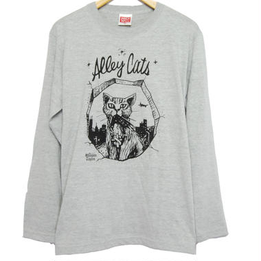 Alley Cats LONG TEE  [GRAY]