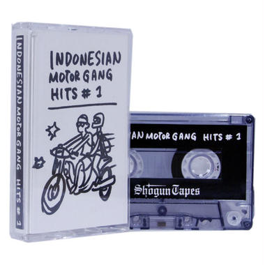 INDONESIAN MOTOR GANG HITS #1 カセットテープ