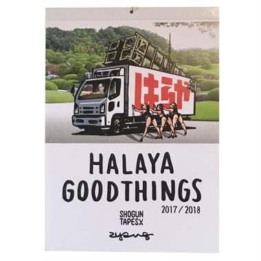 HALAYA GOOD THINGS 2018夏までのカレンダー