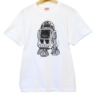 R2Dee2 SOUND SYSTEM Tee  [WHITE]