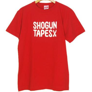 SHOGUNTAPES TEE [RED]