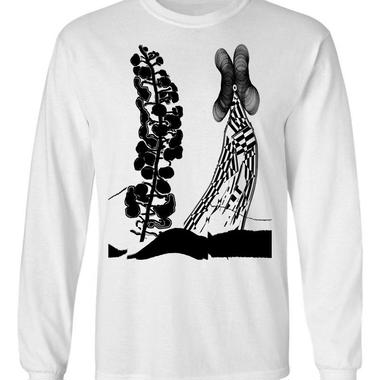 """new!!! """"Vs Sound of Life"""" Long Sleeve T-shirt  (白)ステッカー付き!!! SOMETHING ABOUT 2017"""