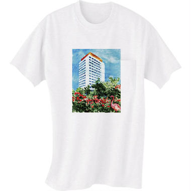 """SALE!!! """"MUSIC LOVERS ONLY reprise dub"""" T-shirt(白)SOMETHING ABOUT 2015"""