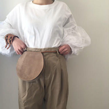 〇〇Bag (suede beige)
