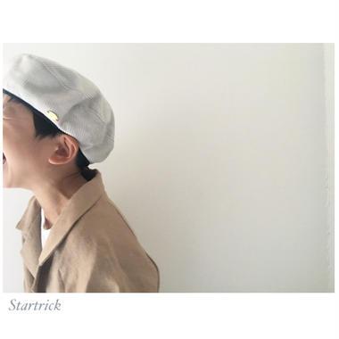 corduroy béret / White