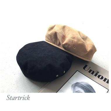 ピグスエードベレー帽𓃟