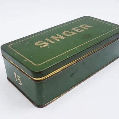 1920~1930's ドイツSINGER社製/ヴィンテージ缶