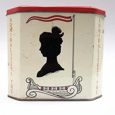 デンマーク製Østerlandsk Thehusヴィンテージ紅茶缶