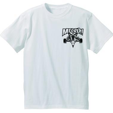 M4D シンプルTシャツ タイプ-A (ホワイト)