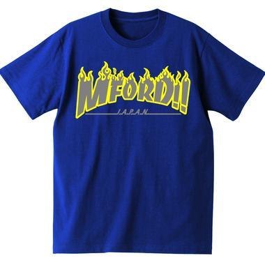 2017年M4DJAPAN公式Tシャツ NV/GY