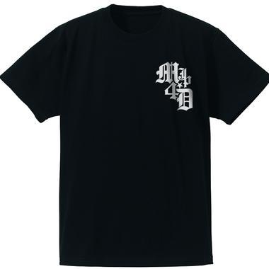 M4D シンプルTシャツ タイプ-B (ブラック)