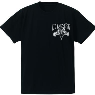 M4D シンプルTシャツ タイプ-A (ブラック)