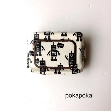ロボットおしりふきケース茶