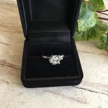 Herkimer diamond ring No,5