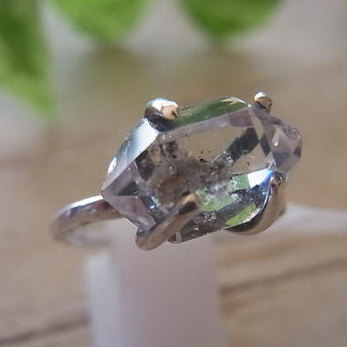 ハーキマーダイヤモンド Ring・・・No,3