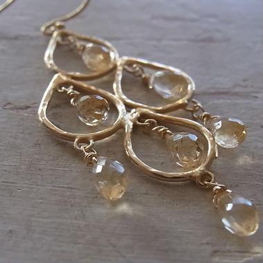 シームーン pierced earrings